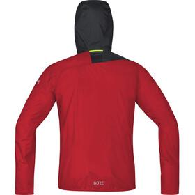 GORE WEAR R7 Windstopper Light Hooded Jacket Men, red/black